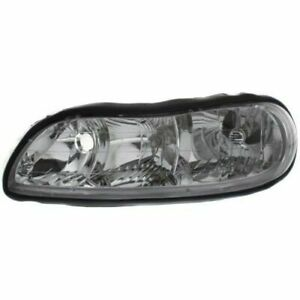 New Gm2502154 Driver Side Headlight For Chevrolet Malibu 1997 2005