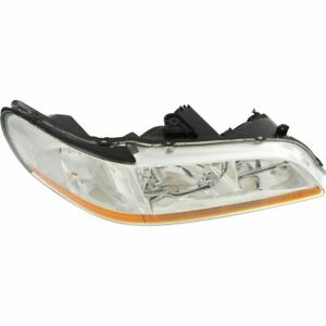 New Driver And Passenger Side Headlight Pair For Honda Accord 1998 2000