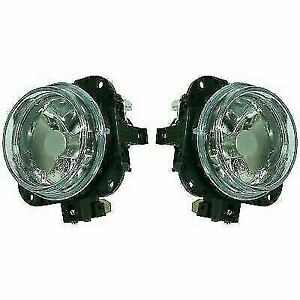 New Set Of 2 Driver Passenger Side Fog Lights Lamps For Mazda Mpv 2002 2003