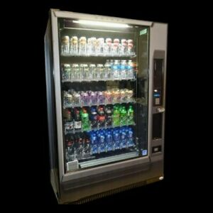 Vendo G9 Glass Front Drink Vending Machine New Made In Usa