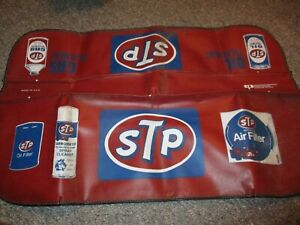 Vintage Stp Fender Covers Andy Granatellis Red Made In Usa Indy Racer Tools