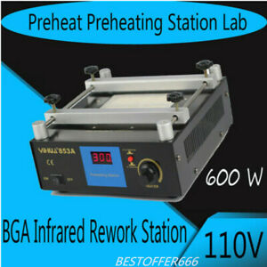Pcb Hot Plate Preheat Bga Rework Station Hot Plate Preheat Preheating Station