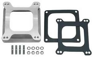 Trans Dapt 2381 Holley Dominator To 4150 Square Bore Aluminum Carburetor Adapter