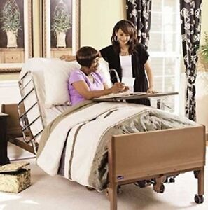 Invacare Full Electric Hospital Bed Package free Mattress And Rails Brand New