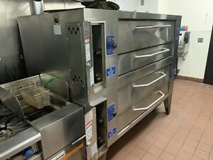 Bakers Pride Y 600 Double Stack Pizza Oven from Working Store