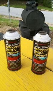 Lot Of 2 Interdynamics A C Refrigerant Oil Freon R 12 Systems Only 15oz Can S
