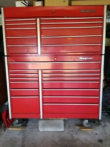 Snap On Toolbox With Large Variety Of Tools