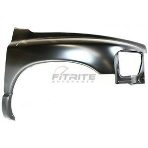 New Front Right Fender Steel Fits Dodge Ram 1500 2002 2005 Ch1241232