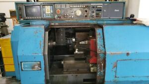 Miyano Bnd 20s sub Spindle cnc Lathe fanuc 0 tc For Parts Only Contact For Parts