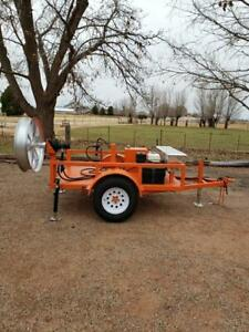Fiber Optic Cable Puller Machine With Trailer