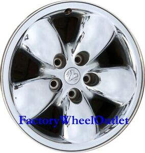2002 2003 2004 2005 Dodge Ram 1500 20x9 Chrome Clad Alloy Wheel 2167