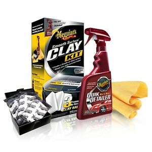 Meguiar s Smooth Surface Clay Detailing Kit G191700