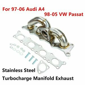 K03 Turbo turbocharge Manifold Exhaust For 97 06 Audi A4 98 05 Vw Passat