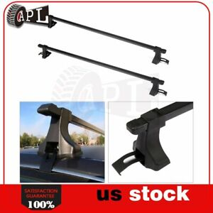 2x 54 Universal Well Made Roof Rack Cross Bar Luggage For 4 Door Suv Truck Jeep