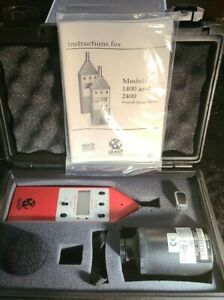 Quest Technologies 210 Sound Level Meter W Qc 10 20 Calibration Tool And Manual