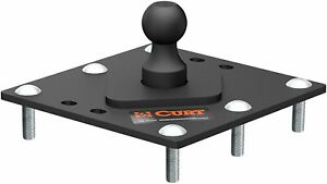 Curt 61100 Over Bed Fixed Ball Gooseneck Hitch 30 000 Lbs 2 5 16 In Ball
