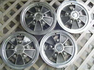 15 In Chevy Chevrolet Impala Caprice Chevelle Monte Carlo Mag Hubcaps Vintage