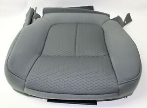 Ford F 150 2011 2012 2013 2014 Driver Bottom Seat Cover Steel Gray