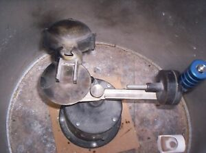 Dental Lab Centrifugal Casting Arm Set In Table Used Good Condition