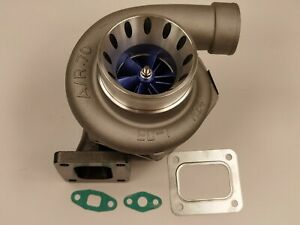 T4 V Band T3t4 T04z 70 A R Cold 68 A R Gt3584 Blue Billet Wheel Turbocharger