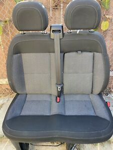 2014 2019 Dodge Ram Promaster Van Passenger Bench Seat 2 Seater Cloth W Airbag