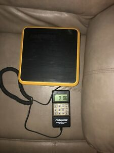 Fieldpiece Srs1 Lightweight Refrigerant Scale With Case 0 110lbs With Alarm Hvac