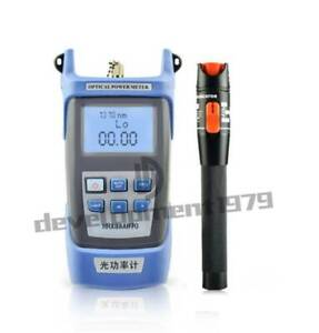 Visual Fault Locator Fiber Optic Cable Tester Optical Power Meter