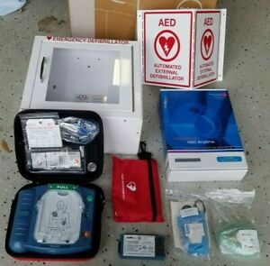 Philips M5066a Heartstart Onsite Aed Defibrillator Complete Business Package