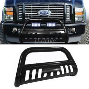3in Front Bull Bar Fit 2008 2010 Ford F 250 F 350 Super Duty Black Grille Guard