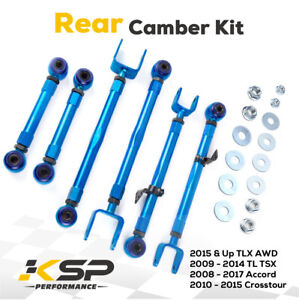 Fit 08 17 Accord 09 14 Acura Tsx Tl Rear Camber Kit Pair Set Of 6 Pcs