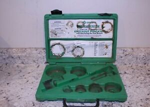 Greenlee 7238sb Knockout Punch Set W wrench Driver 1 2 Thru 2 pre owned