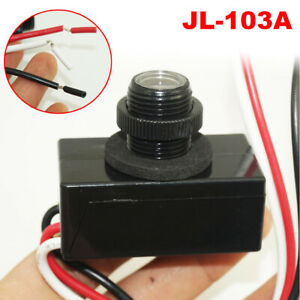 Jl 103a Led Photocell 120v Resistor Photo Light Switch Dusk Sensor Photoelectric