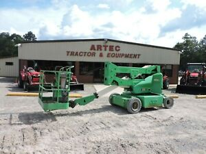 2011 Jlg E400a Narrow Articulating Boom Lift Watch Video Only 886 Hours