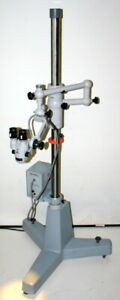 Zeiss F 170 Operating Surgical Microscope Model Opmi 1 dfc Fiber Optic Light