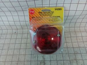 New Peterson V428s Universal Trailer Stud Mount Combination Tail Light Free S H