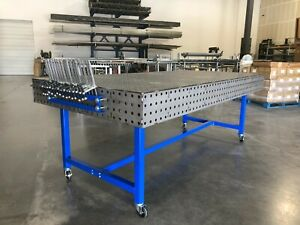 48x96 Welding Table Fabrication Block Fixturing Workbench Free Shipping