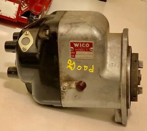 Mccormick Farmall A H M Tractor Org Wico Model X Xh 184 Magneto Tested Good