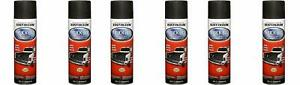 6 Pc 15 Oz Rust Oleum Auto Truck Bed Liner Coating Black Solid Spray Comfort Tip