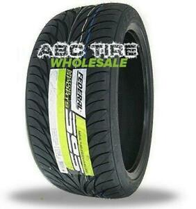 2x New Federal Ss595 P275 40r18 Tires 2754018 275 40 18