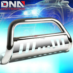 For 10 18 Ram 2500 3500 Truck Stainless Steel Chrome Bull Bar Push Grill Guard