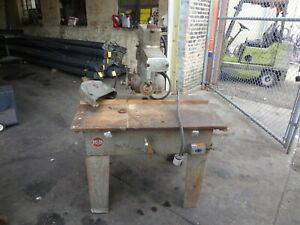 Delta Rockwell Radial Arm Saw 12 3 Hp 220 440 Volt 3 Ph