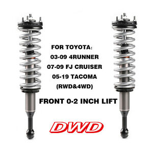 Dwd Front Shock 2 0 Coilover For Toyota 4runner fj Cruiser tacoma rwd 4wd 0 2
