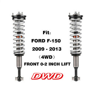 Dwd Front Shock 2 0 Coilover For Ford F 150 2009 20134wdfront 0 2 Lift