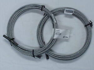 1 Set Of 2 Rotary Lift Spoa7 Equalizer Cable fj7449 Brand New