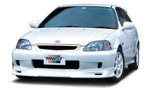 Greddy Hard Urethane Front Lip Spoiler For 99 00 Honda Civic Si