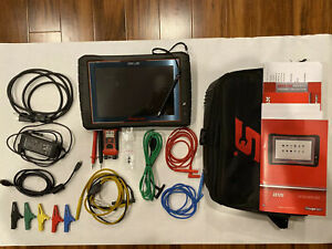 Snap On Zeus Intelligent Scan Tool 20 2 Software 4 Channel Lab Scope Kit