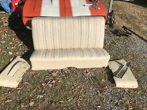 1965 1966 1967 Cutlass Buick Special Rear Seat And Armrest