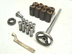 9 Southbend Collet Set Up Metal Lathe Draw Tube
