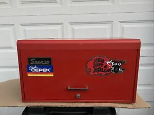 Vintage Snap On 6 Drawer Tool Chest Box Cabinet No Key Heavy 1982