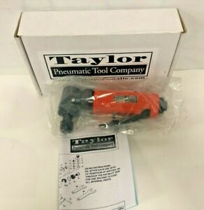 Taylor Pneumatic Tool Company T 8859r 1 4 Right Angle Rear Exhaust Die Grinder